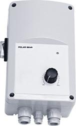 Однофазный электронный регулятор скорости UVS 10